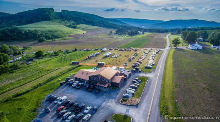 While the company started in West Virginia, we're thankful that they decided to make their Maryland location in this beautiful spot surrounded by farmland and mountains.