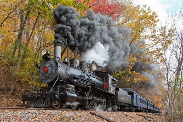 The Wilmington and Western Railroad has been a rolling museum now for 50 years!