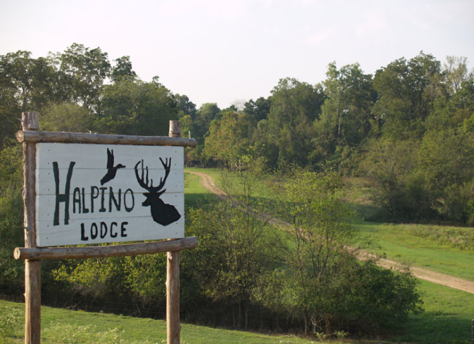 There's also another lodge on the property, Halpino Lodge.