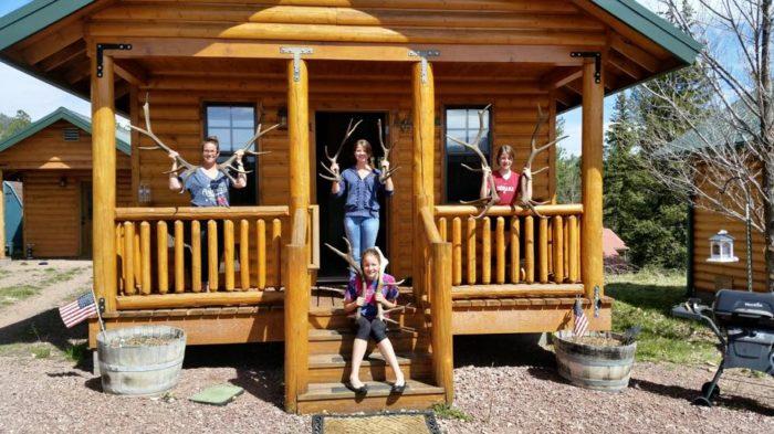 5. Escudilla Mountain Cabins, Alpine