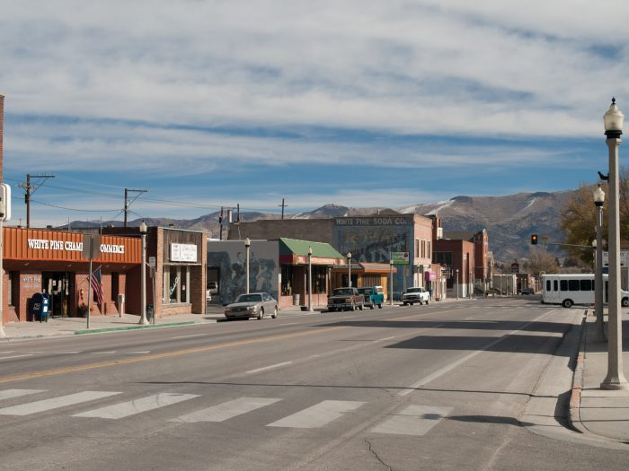 The town of Ely isn't exactly tiny, but it is pretty small. The population is around 4,200 residents. The little Main Street is charming with several historic buildings.