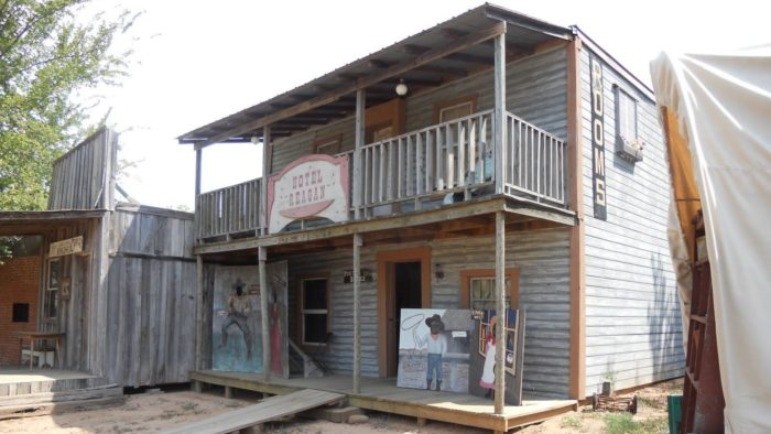 As the movie set for several Western movies, such as Te-Ata, No Rest For The Wicked, Black Marshal Story of Bass Reeves and Marshal's Day Off, Sipokni West is a true Western mini-town.