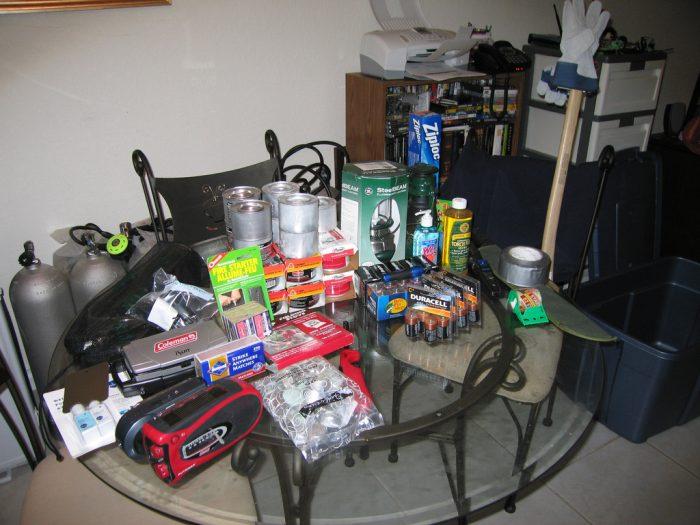 5. Hurricane supplies? Check!