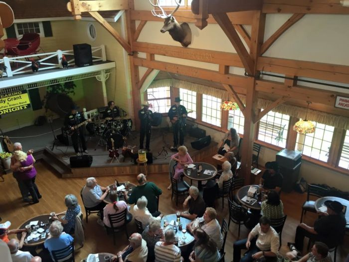 The amazing Americana Barn is a prime place to enjoy a beverage and live entertainment while waiting for your table or to relax and cut a rug after your scrumptious meal.
