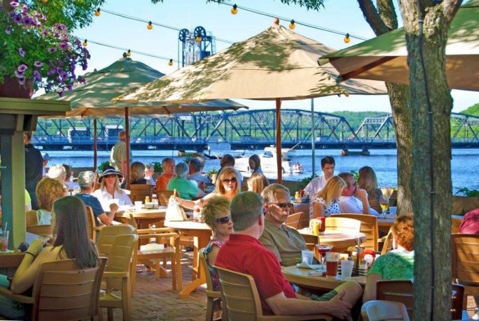 2. Dock Cafe - Stillwater