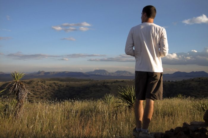 Davis Mountains State Park is riddled with desolate, peaceful trails that will reward you with a panoramic view of the breathtaking West Texas desert.