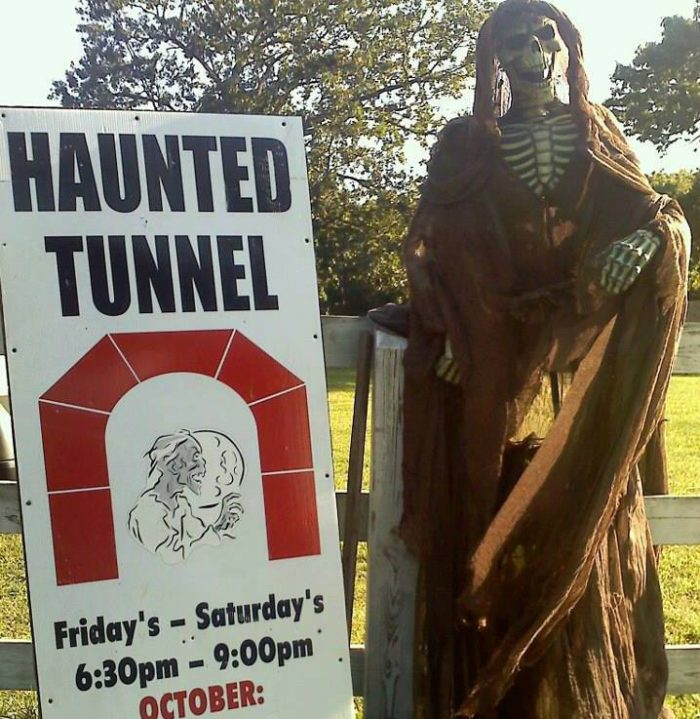 7. The Haunted Tunnel, Pawtucket