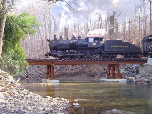 Crossing Red Clay Creek in a vintage train car is something you really need to experience at least once.