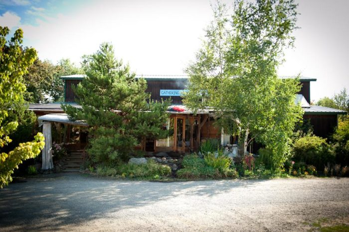 The Gathering Together Farm restaurant is charming through and through.