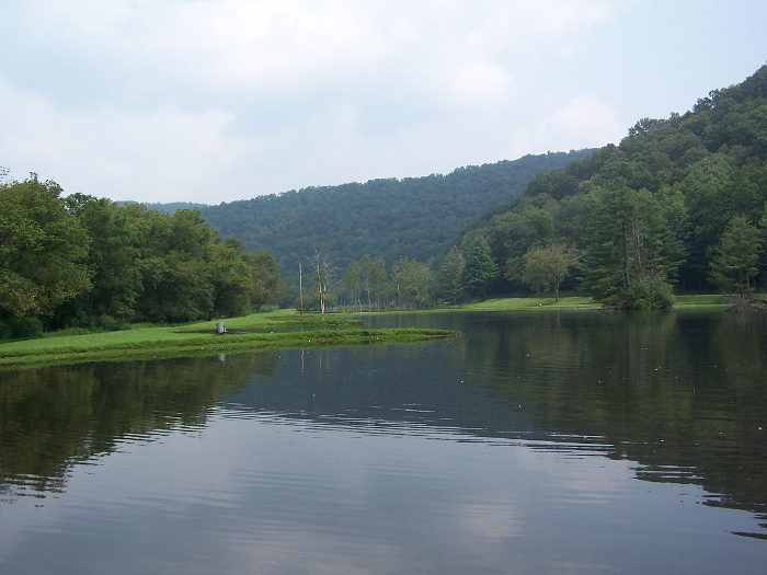 Cedar Creek State Park is just a few miles south of the town.