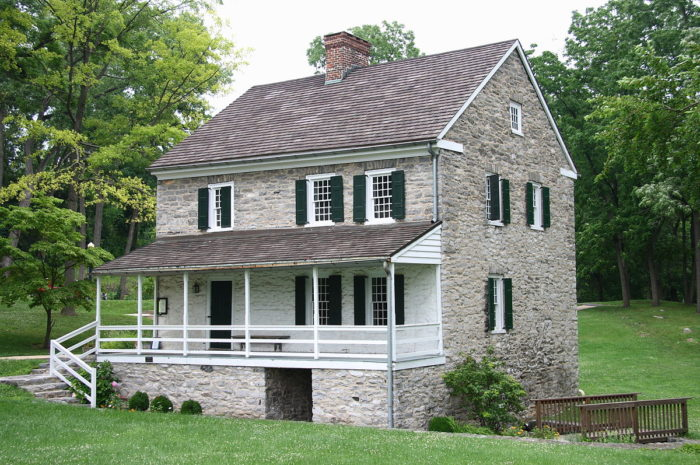 1. Jonathan Hager House, Hagerstown