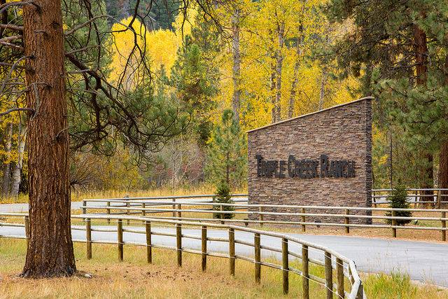 You'll find Triple Creek Ranch just outside the tranquil town of Darby, nestled in the Bitterroot Mountains among towering pine trees.
