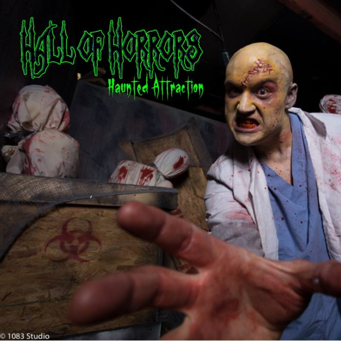 18. Hall of Horrors - CayceThursday - Saturday Oct. 6 - 29, and Monday Oct. 31, 2016.