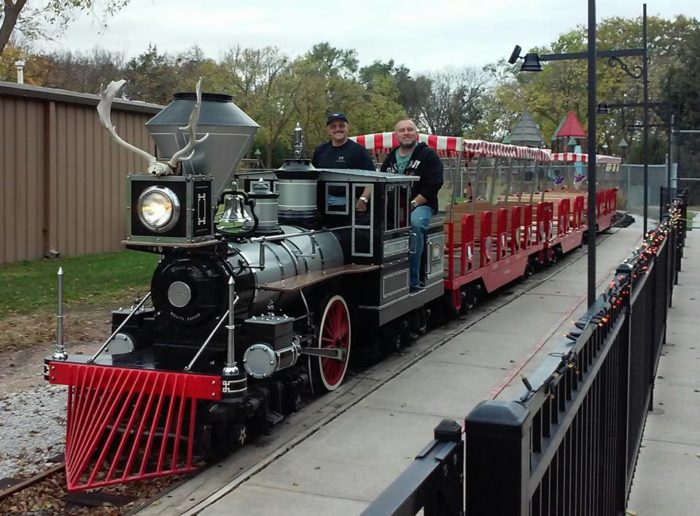 The only life-size garden railroad in the state is open all summer for rides...