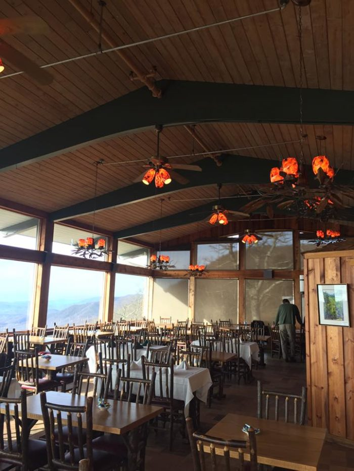 Pisgah Inn Offers Dining With An Incredible View In North