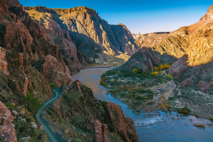5. Another iconic hiking trail to consider is the South Kaibab Trail, which takes you to the Colorado River.