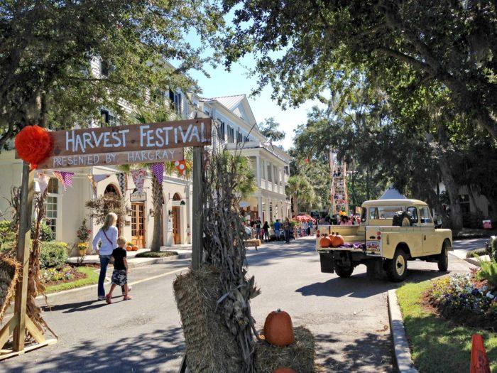 5. Habersham Harvest Festival - Beaufort, SCOctober 22 - October 23, 2016