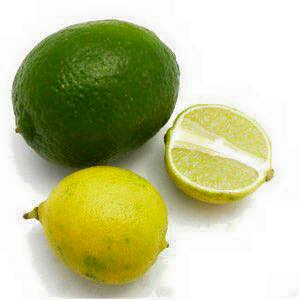 Key limes are different than regular limes. They're much more tart, and their juice is yellow. These tasty little limes grow very well in the Florida Keys, and many folks have a Key lime bush in their yard.