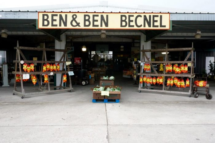 Then, make a stop at the Ben & Ben Becnel farmstand.