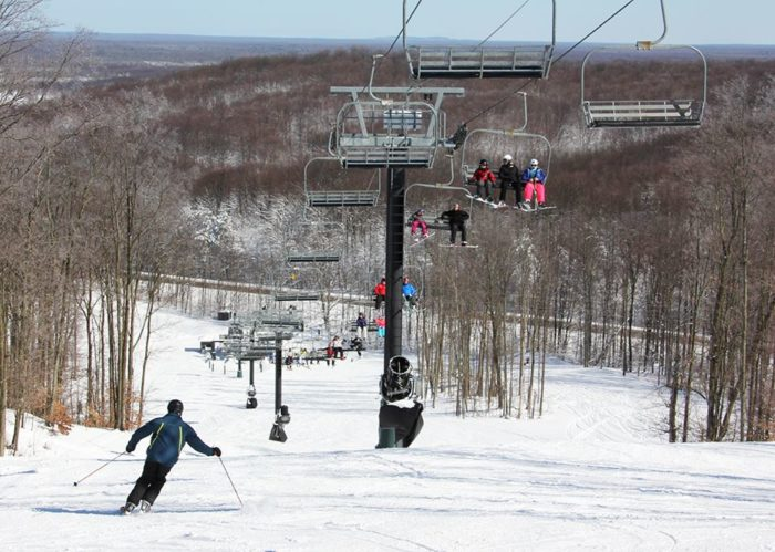 In the winter, try your hand at one of 58 downhill skiing slopes or speed through miles of lovely cross-country trails.