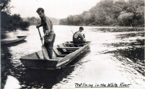 Cotter has been a home base for White River fishermen for a long time.