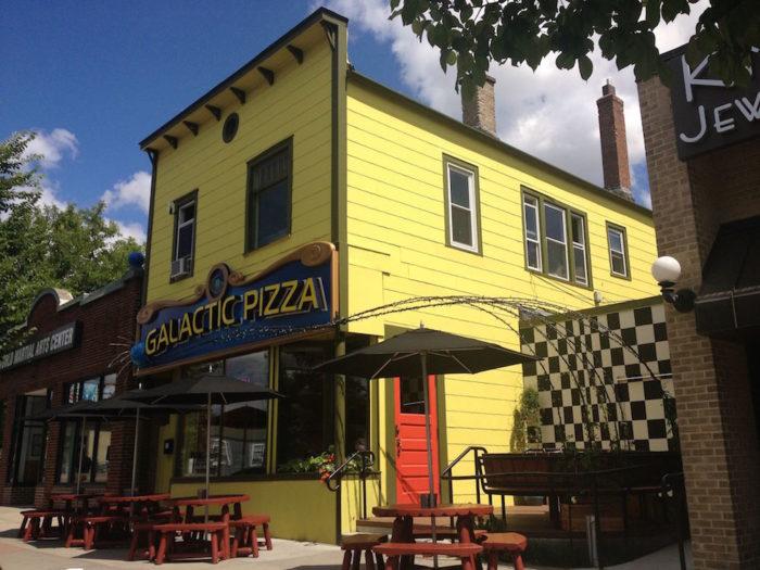 Galactic Pizza Minneapolis