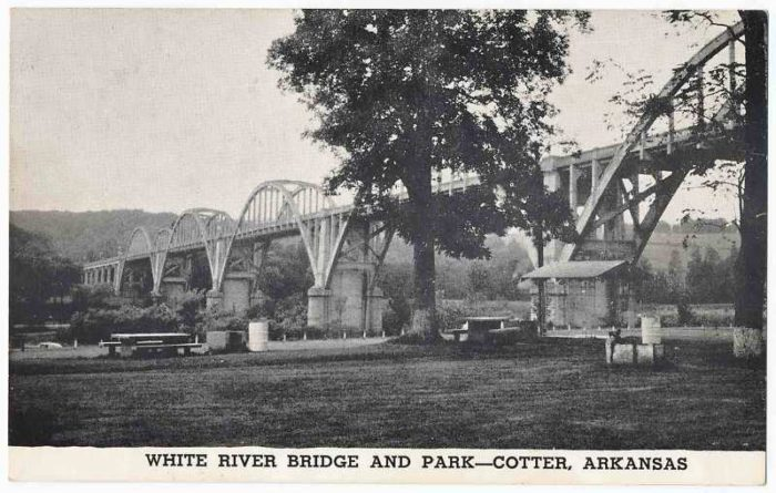 One of its most interesting features, Cotter Bridge, has been around for a long time too.