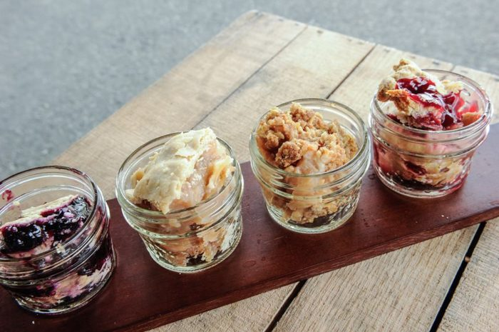 """Whether it's a slice of classic Crane's apple pie or a freshly made strudel, your dessert choice will satisfy those sugary cravings. You can even try a one-of-a-kind """"pie flight."""""""