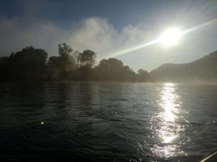 . . . but even if you don't, you'll definitely have the BEST time on the gorgeous White River.