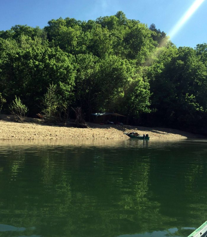 Cotter Trout Dock offers guided fishing float trips and guided trout fishing.
