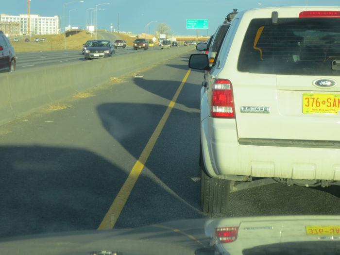 4. Speaking of travel, you are sure to run into terrible traffic any time you hit the road.