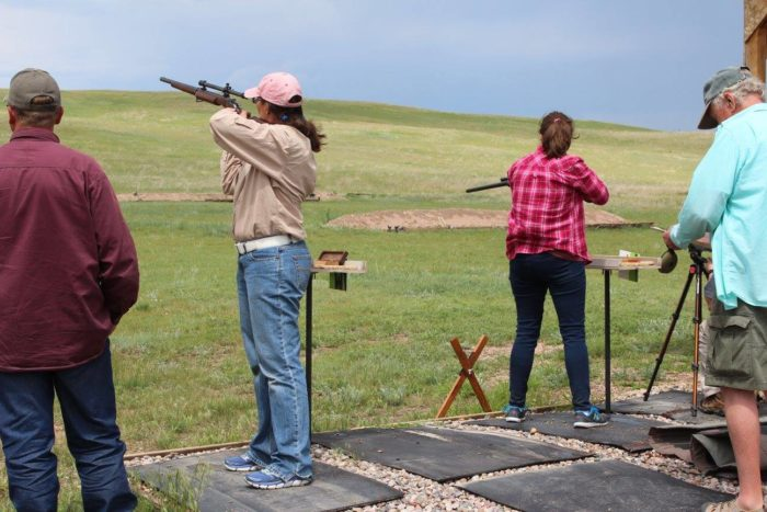 7. We'd love to spend the afternoon on the shooting range.