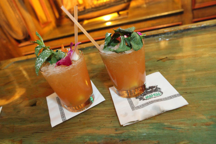 The menu is full of Polynesian and Asian-inspired dishes, and the drink menu hasn't changed much since the restaurant opened in the mid-50s, serving original Don the Beachcomber recipes.