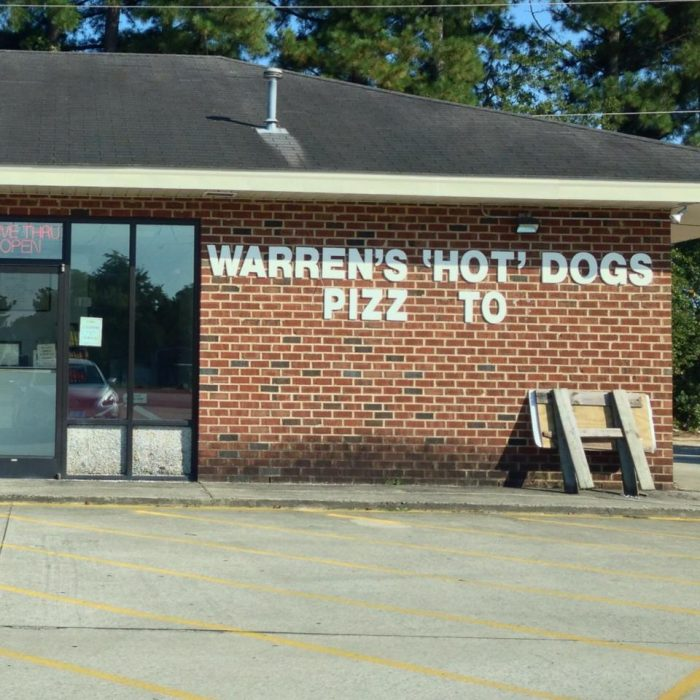 5. Warren's Hot Dogs and Pizza Too, Greenville