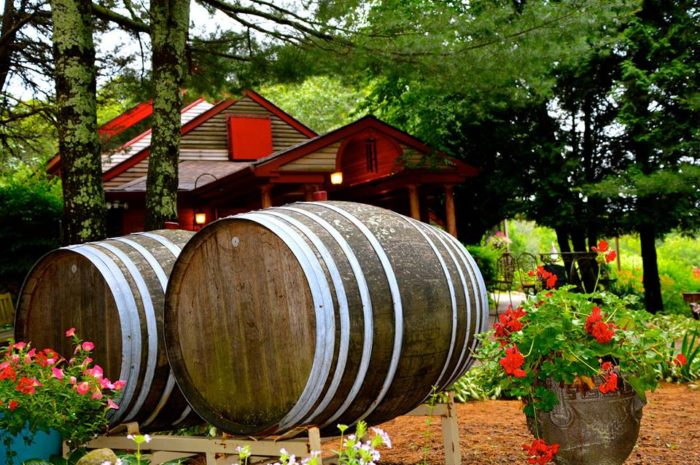 Whether you choose to sit inside and enjoy your wine at a table or grab a seat on the patio, you're sure to be surrounded by beauty. As you tour the state, get your passport stamped to show you made a visit and tasted the wine!