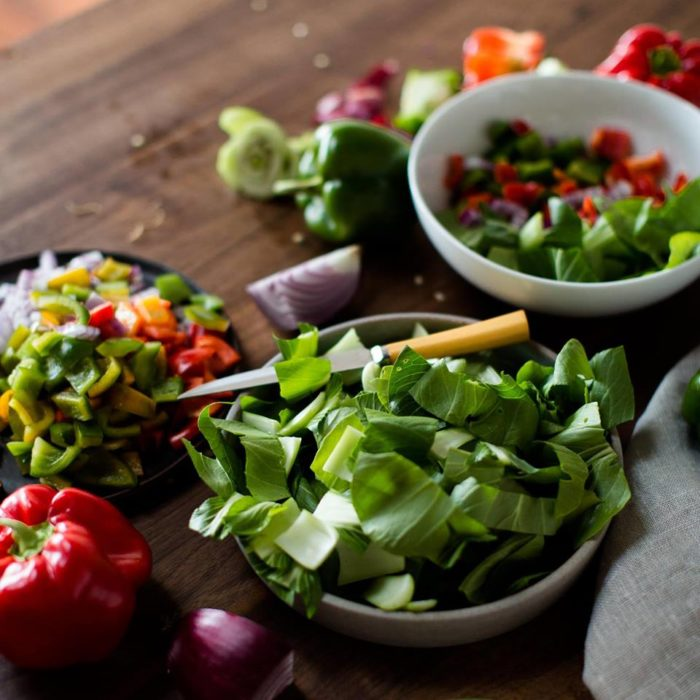 It doesn't get much fresher than veggies grown just a few feet from your table.
