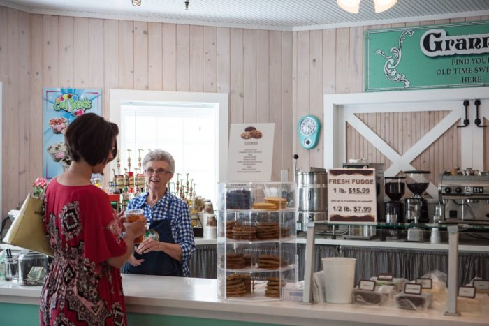 ...or snag homemade fudge from Granny's Sweet Shop in 5 must-try flavors.  Perfect for an after dinner delight or a pre-dinner treat.