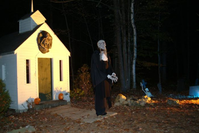 For the braver visitors, the Harvest of Haunts provides a truly terrifying experience.
