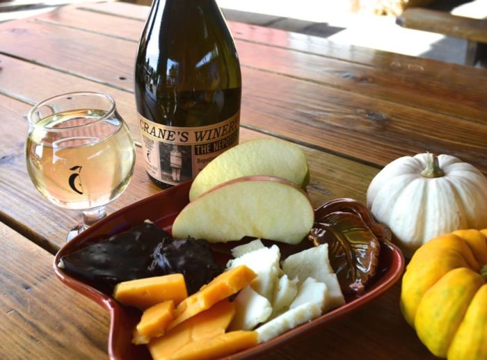 Whether you're stopping by for hot cider and donuts after a long day of apple picking or settling in for a hearty family dinner, you won't be disappointed with your visit to Crane's Pie Pantry Restaurant & Winery.