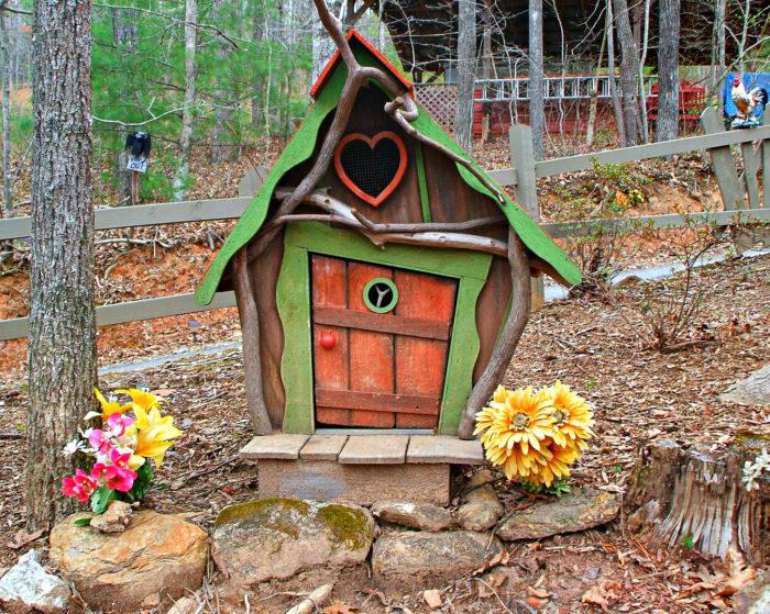 4. Sleepy Hollow Fairy Garden