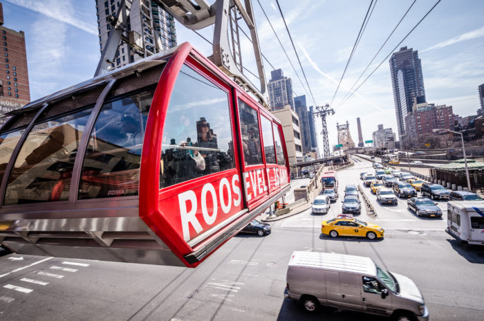 The famous tram of Roosevelt Island is known for being New York's most unique commute.