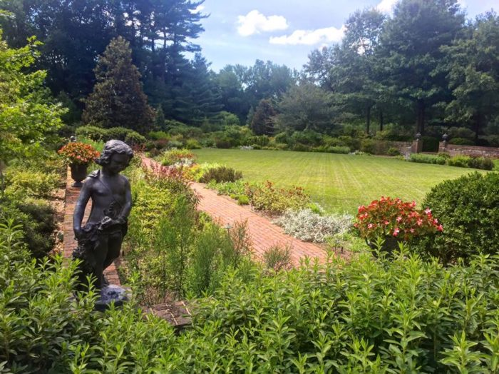 The result is spectacular - it is the largest botanical garden where everything is native to Delaware.