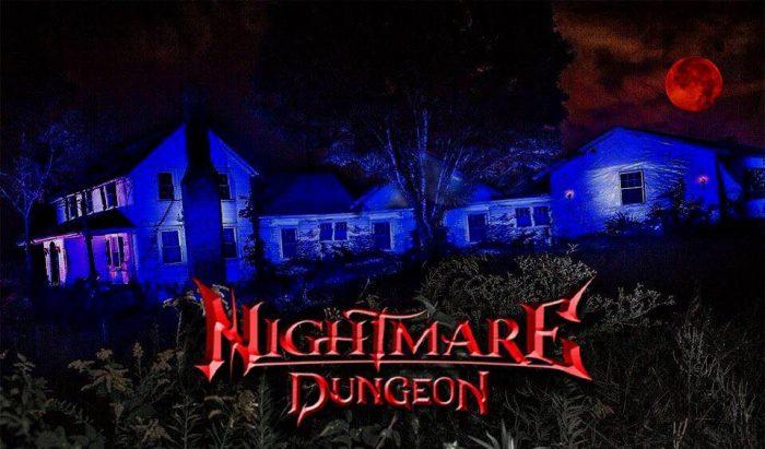 4. Nightmare Dungeon - GreenvilleOpen every night through Nov. 6, 2016