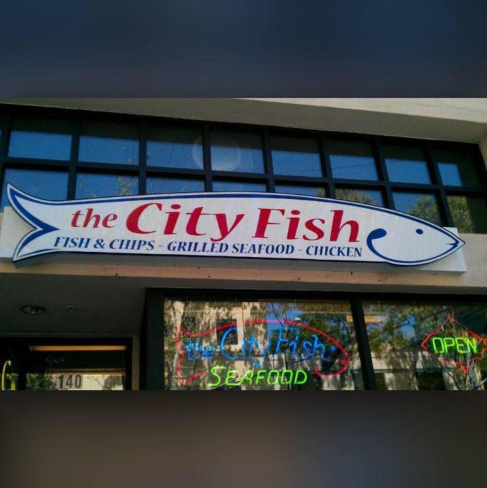 1. The City Fish, San Jose