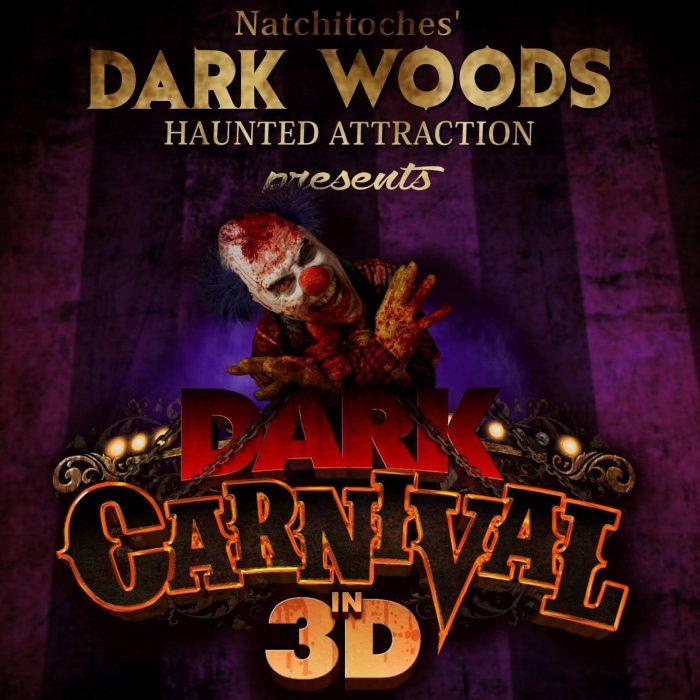4. Dark Woods Haunted Attraction, 4343 University Pkwy, Natchitoches