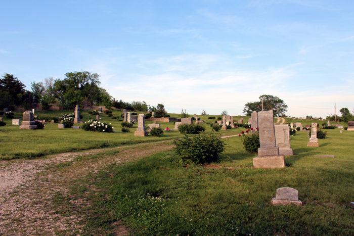 3. Stull Cemetery (Stull)