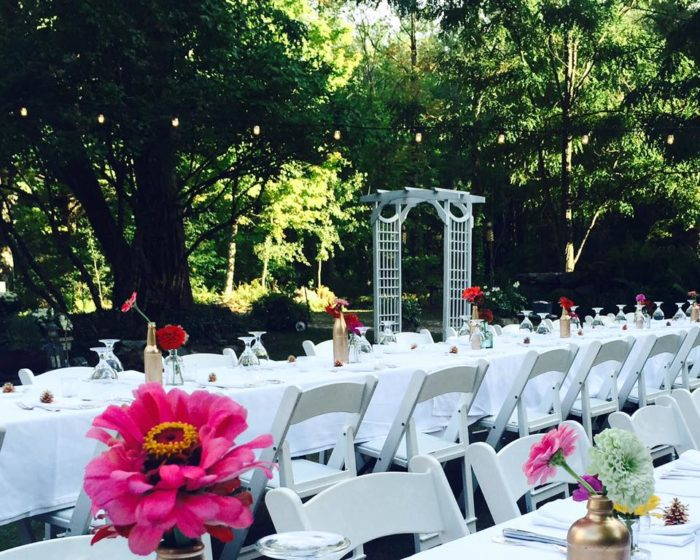 The weddings at the Inn at Weathersfield are one of a kind, affordably catering to foodies searching for a private and secluded setting.