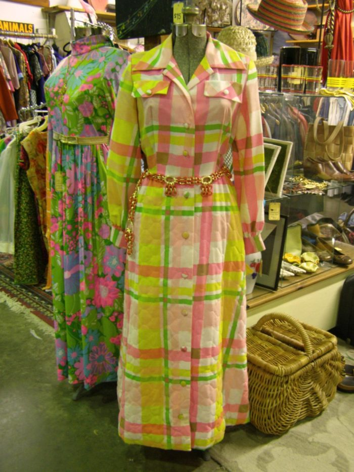 As you might expect, Oldies has a really solid offering of vintage threads.  From quirky to classic, you'll have no problem finding that perfect statement piece, or Halloween costume.