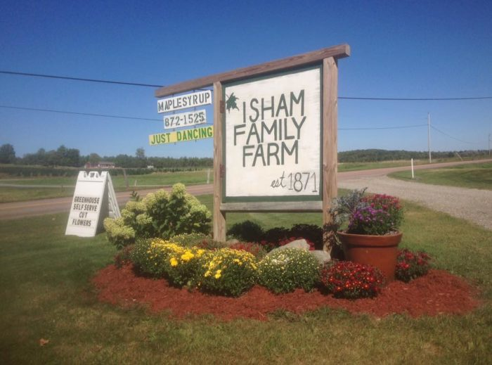 6.  Isham Family Farms - 3515 Oak Hill Road, Williston