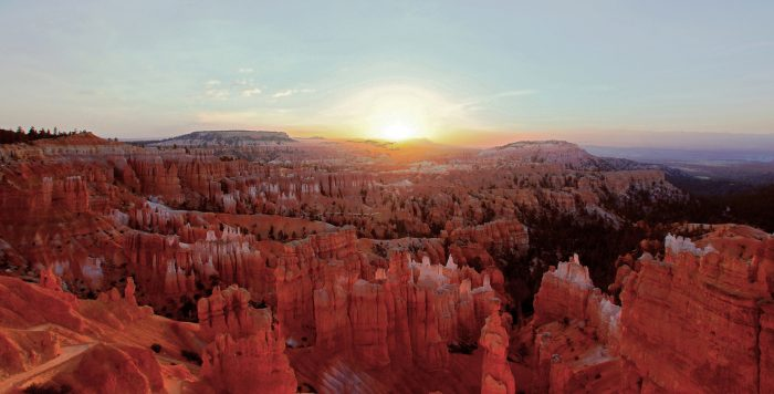With out of this world views that will make it hard for you to believe you're still on this planet, Sunrise Point in Bryce Canyon National Park will steal your breath away.